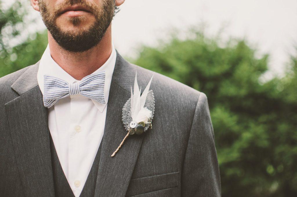 Combinar gravata com cor do terno