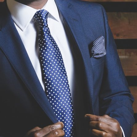 Definir cor da gravata